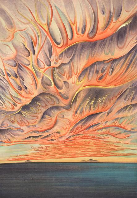, 'Setting Sun on Sacramento Valley, California,' 1930, Legion of Honor