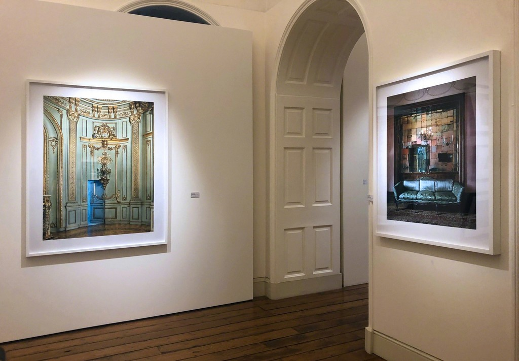 "Michael Eastman's ""Secret Doorway, Buenos Aires/2017"" and ""Mirror Grid, Milan"" featured at Photo London 2019"