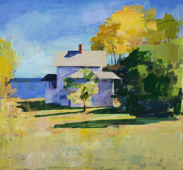 Kurt Solmssen, 'White House at Lakebay', 2019, Linda Hodges Gallery