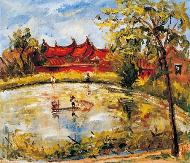 , 'Taiwan Farmhouse,' 1932, Liang Gallery