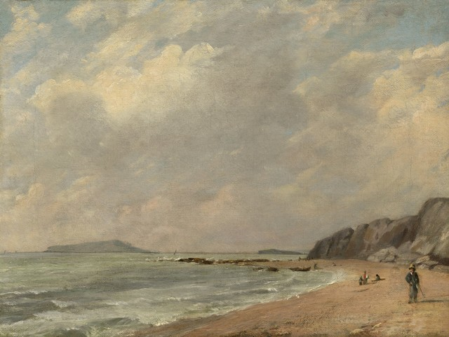 , 'Osmington Bay,' 1816, Clark Art Institute