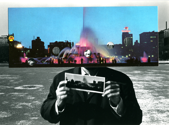 , 'Postcard Visit, Chicago,' 1969, Yancey Richardson Gallery