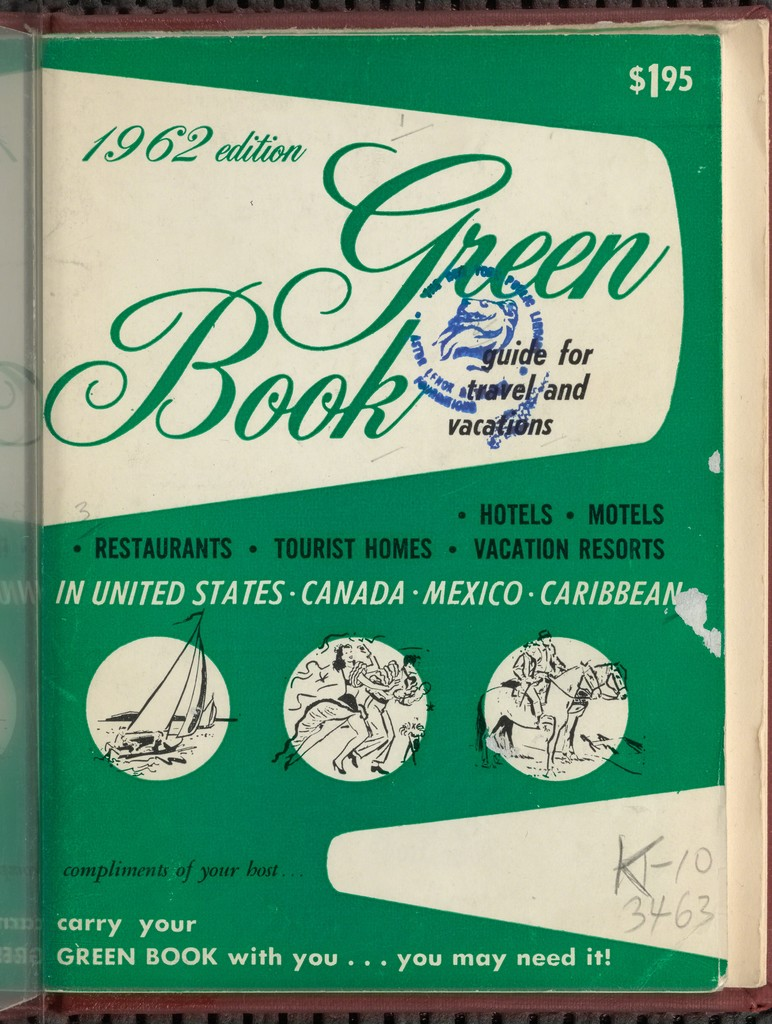 Cover of The Negro Motorist Green Book published by Victor H. Green, 1962