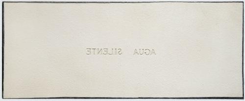 , 'Senza Titolo [Aqua silente],' 1974, Ronchini Gallery