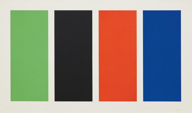 Ellsworth Kelly, 'Four Panels', 1970-71, Phillips