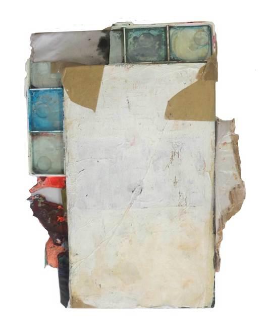, 'Rectángulo blanco con colores bienvenidosa las afueras,' 2014, Galeria Trama