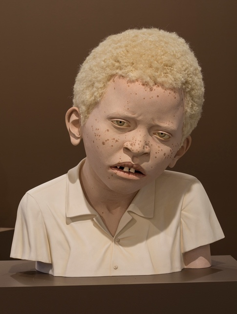 , 'AFRICAN CHILD WITH ALBINISM 1,' 2014, Traver Gallery