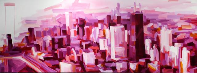 , 'The Pink City,' 2017, Gallery at Zhou B Art Center