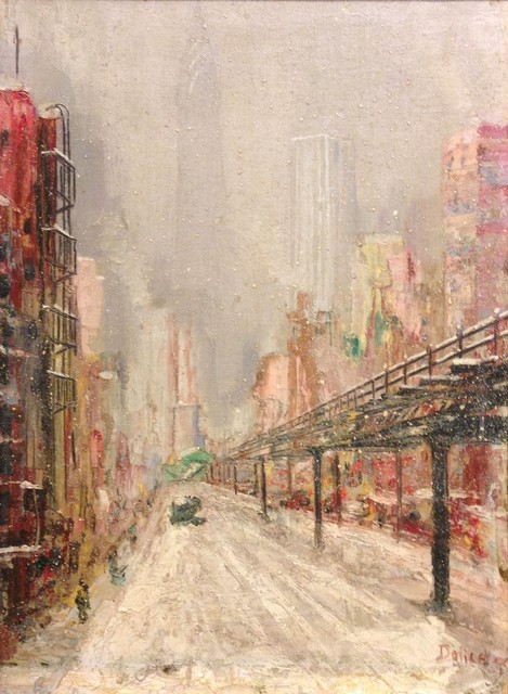 , 'Third Avenue El,' , Childs Gallery