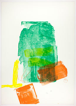 , 'I Need Yellow,' 1973, Helen Frankenthaler Foundation