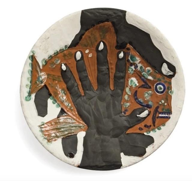 Pablo Picasso, 'Hands with fish (Mains au poisson)', 1953, Zeit Contemporary Art