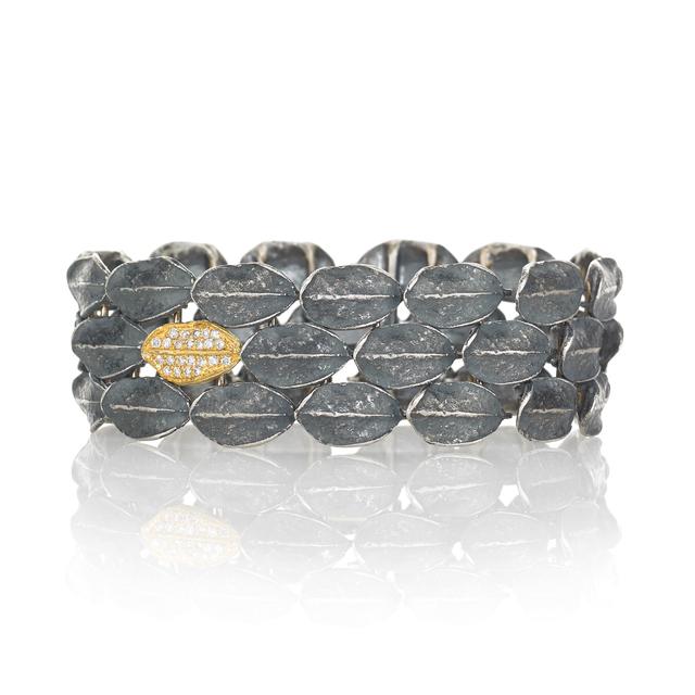 , ' Fall River Pave Boxwood Bracelet,' 2013, Szor Collections