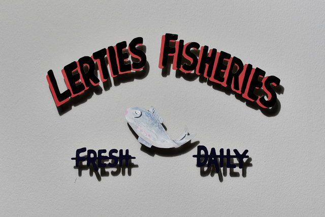 Sue Williamson, 'Signs of the Lost District: Lerties Fisheries', 2019, Goodman Gallery