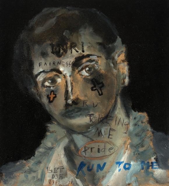 , 'Run To Me,' 2017, Galerie Heike Strelow
