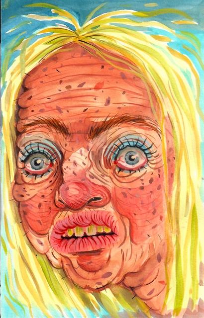 , 'Tan'd Woman,' 2017, Asya Geisberg Gallery