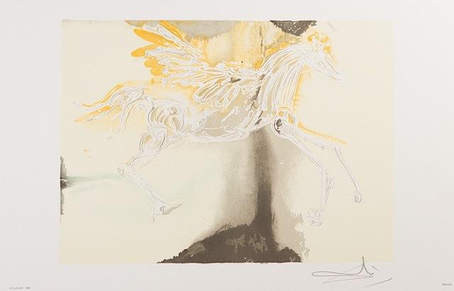 Salvador Dalí, 'Pégase (Pegasus)', 1983, Art Lithographies