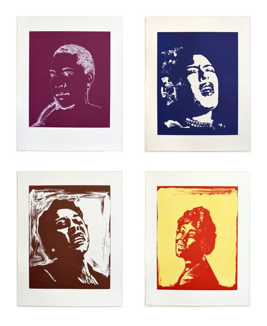 Thomas Schütte, 'Blues Women (Bessie Smith, Billie Holiday, Dinah Washington, Mamie Smith)', 2018, Carolina Nitsch Contemporary Art