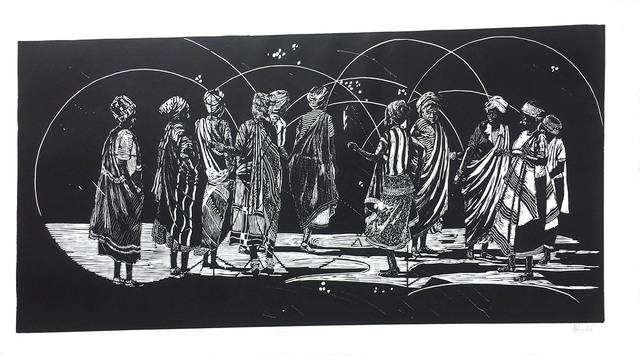 Edward Selematsela, 'A Dance for the Rain Queen', 2019, Opulent Living Gallery