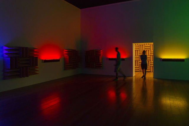 , 'A Chamber for Horwitz; Sonakinatography Transcriptions in Surround Sound,' 2015, Lisson Gallery