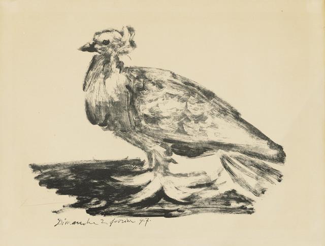 Pablo Picasso, 'Le gros pigeon', 1947, Christie's