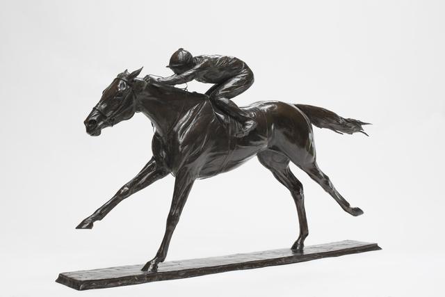 Charlie Langton, 'Treve & Thierry Jarnet', 2020, Sculpture, Bronze, Sladmore