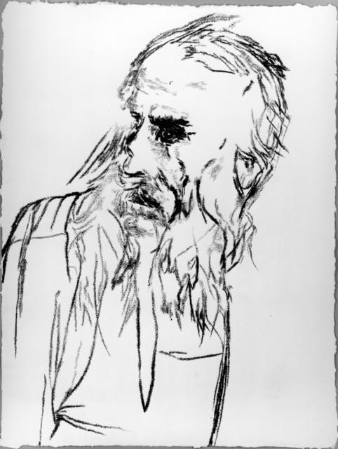 R. B. Kitaj, 'Abraham', 1992, Marlborough Graphics