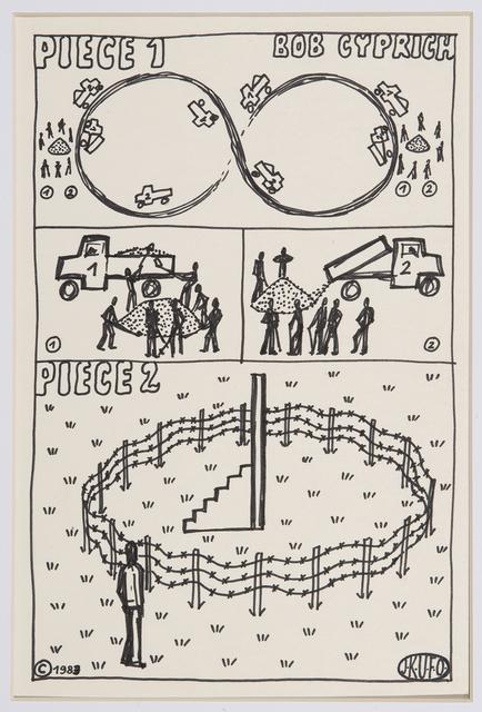 , 'Untitled (Bob Cyprich),' 1983, The Mayor Gallery