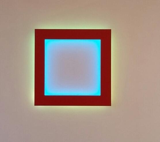 Collin Parson, 'Untitled (red square)', 2016, Michael Warren Contemporary