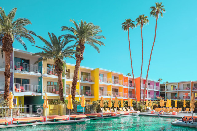 , 'Palm Springs Colorful 2,' , ArtStar