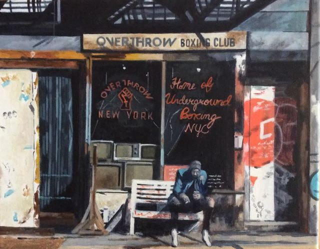 , 'Boxing in New York,' 2018, Art Collection NYC