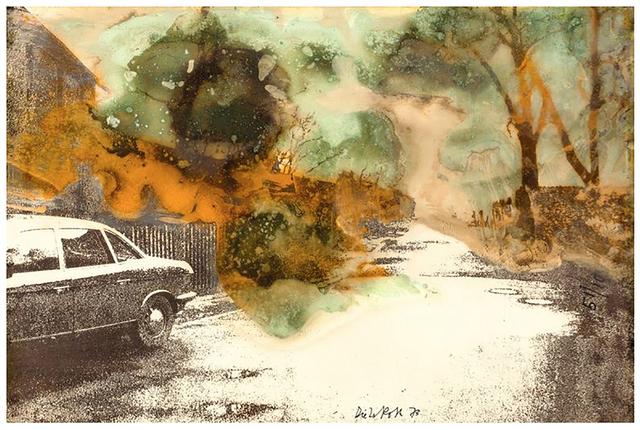 , 'In Oelper Scheperts (Braunschweiger Landschaft mit Kasebaumen),' 1973, Richard Saltoun