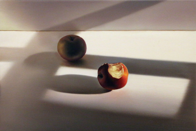 , 'Zwei Äpfel II,' 2016, Galerie Barbara von Stechow