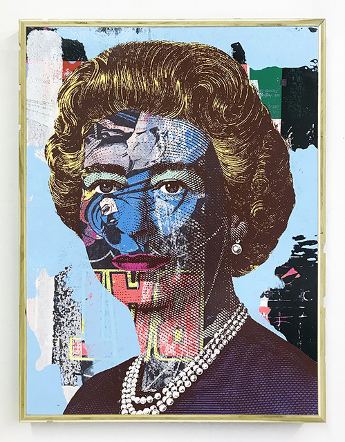 , 'Queen (Blue),' 2017, Vertical Gallery