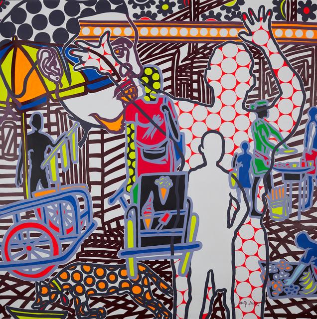 Boris Nzebo, 'Le Monstre de Nkolbong', 2019, Jack Bell Gallery