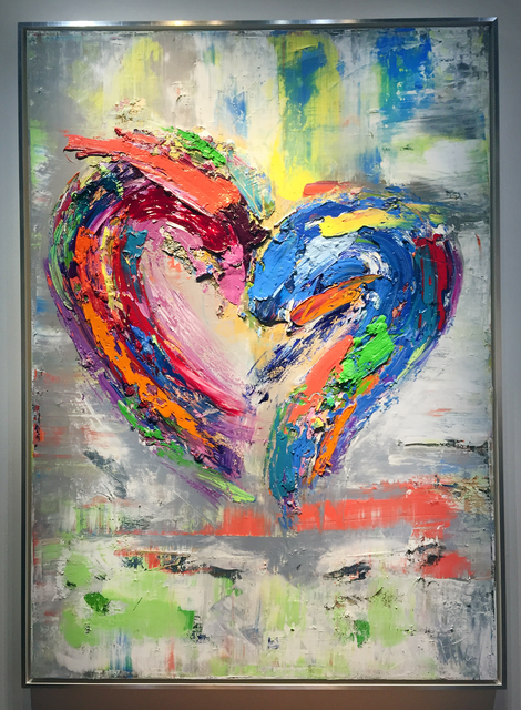 , 'The Color Of My Love,' 2018, The Lawley Art Group