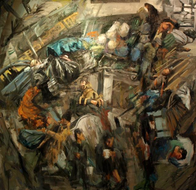, 'Sin techo,' 2017, Yam Gallery