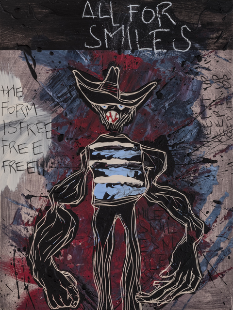 , ' All For Smiles | The Freedom Paintings #20 ,' 2018, heliumcowboy