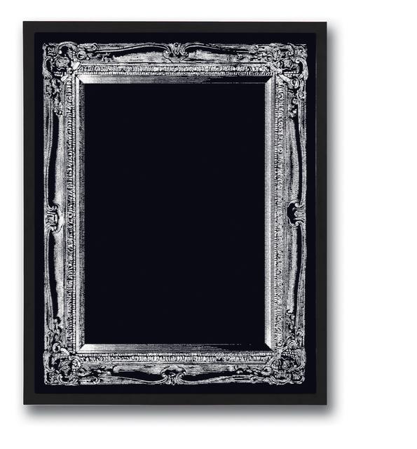 Soo-whan Choi, 'Emptiness_Silverwhite frame 01', 2009, Gallery LEE & BAE