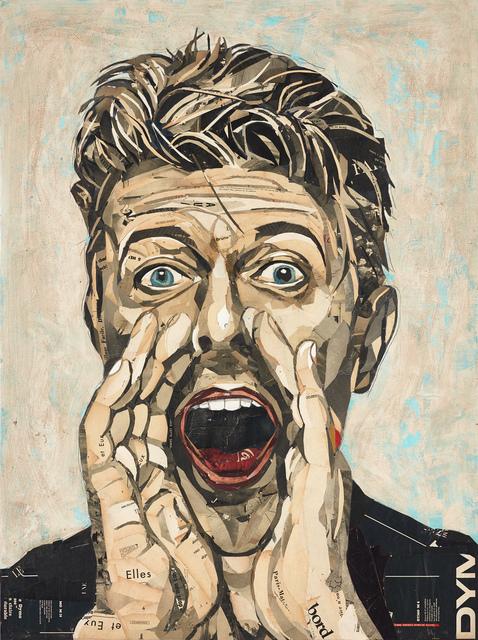 , 'David Bowie II,' 2019, GALERIA JORDI BARNADAS