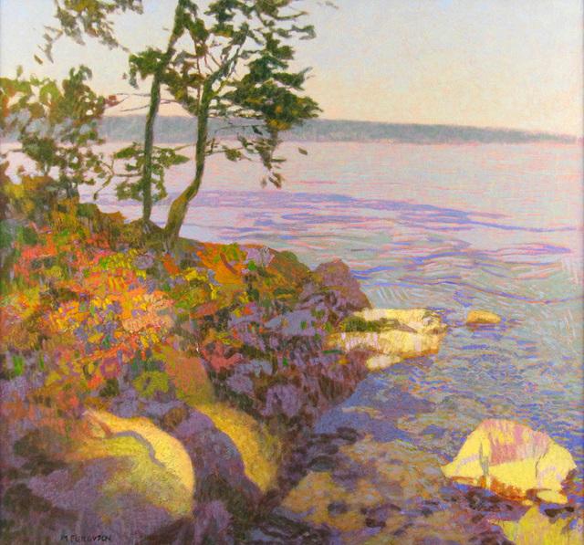 Mike Ferguson, 'Lake and Rocks', ca. 2014, Janus Galleries