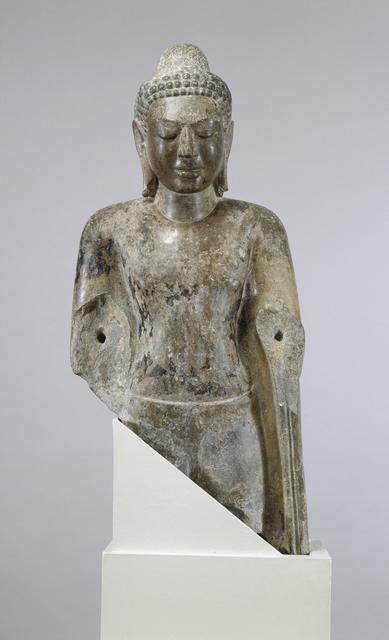 'Standing Buddha', 8th century, Walters Art Museum