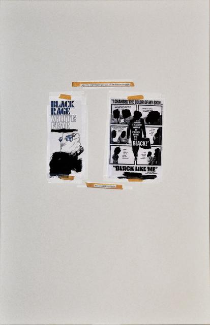 Dominique Duroseau, 'Black White/ White Black Inequalibrium', 2016, Rush Philanthropic Arts Foundation Benefit Auction