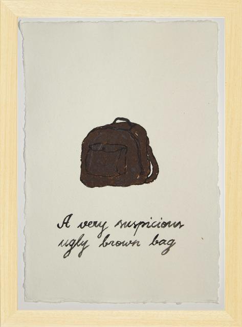 , 'Suspicious Bags: Ugly Brown Bag,' 2018, Temnikova & Kasela