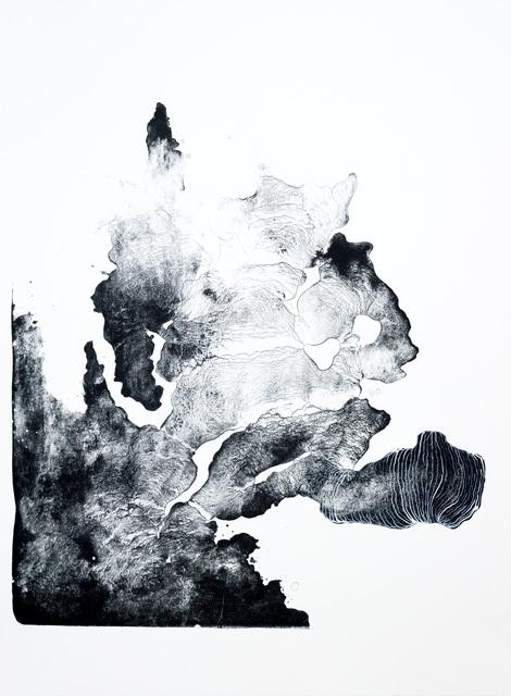, 'structure III,' 2016, galerie burster