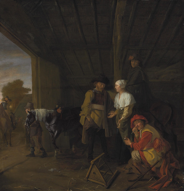 , 'Paying the hostess,' , Christie's Old Masters
