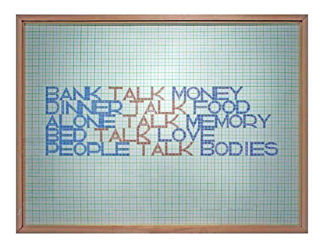 , 'Bank Talk Money,' 1968-2010, Hal Bromm