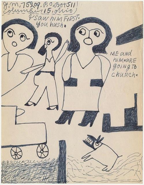 """, '""""I saw him first"""",' n.d, Ricco/Maresca Gallery"""