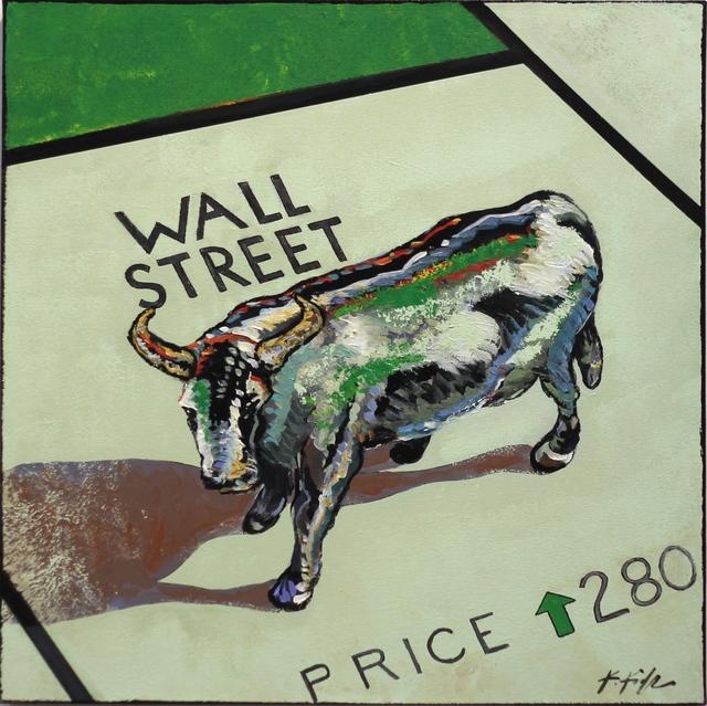 , 'Wall Street Bull,' 2016, Artspace Warehouse