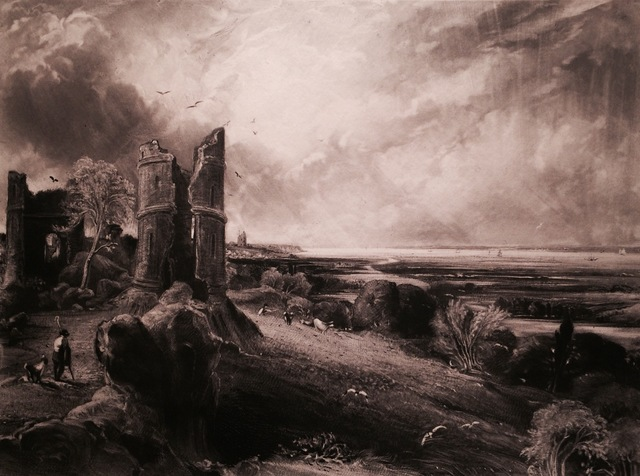 , 'HADLEIGH CASTLE, NO 2. LARGE PLATE,' 1830, Gerrish Fine Art