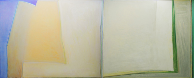 , 'YELLOW LANDSCAPE BY THE SEA #3,' 1984, Greg Kucera Gallery